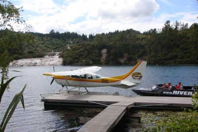Adventure activity, Taupo's Float Plane