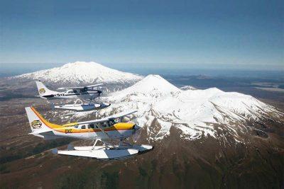 Scenic flights to Mt Ruapehu, Taupo's Float Plane