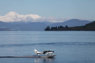 Scenic flight, Taupo's Float Plane