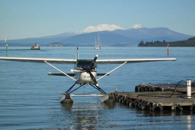 Scenic flight, Taupo's Float Plane