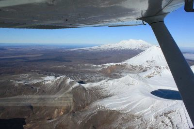 Scenic flights to Mt Ruapehu, Taupo's Float Plane