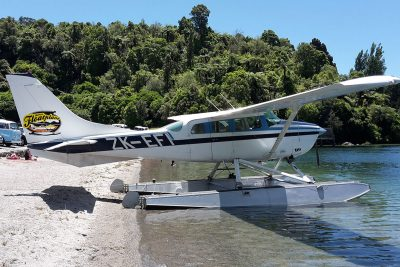 Scenic flights North Island, Taupo's Float Plane