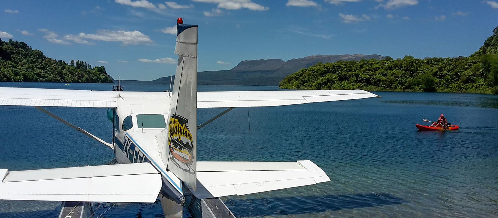 Scenic flights Rotorua, Taupo's Float Plane