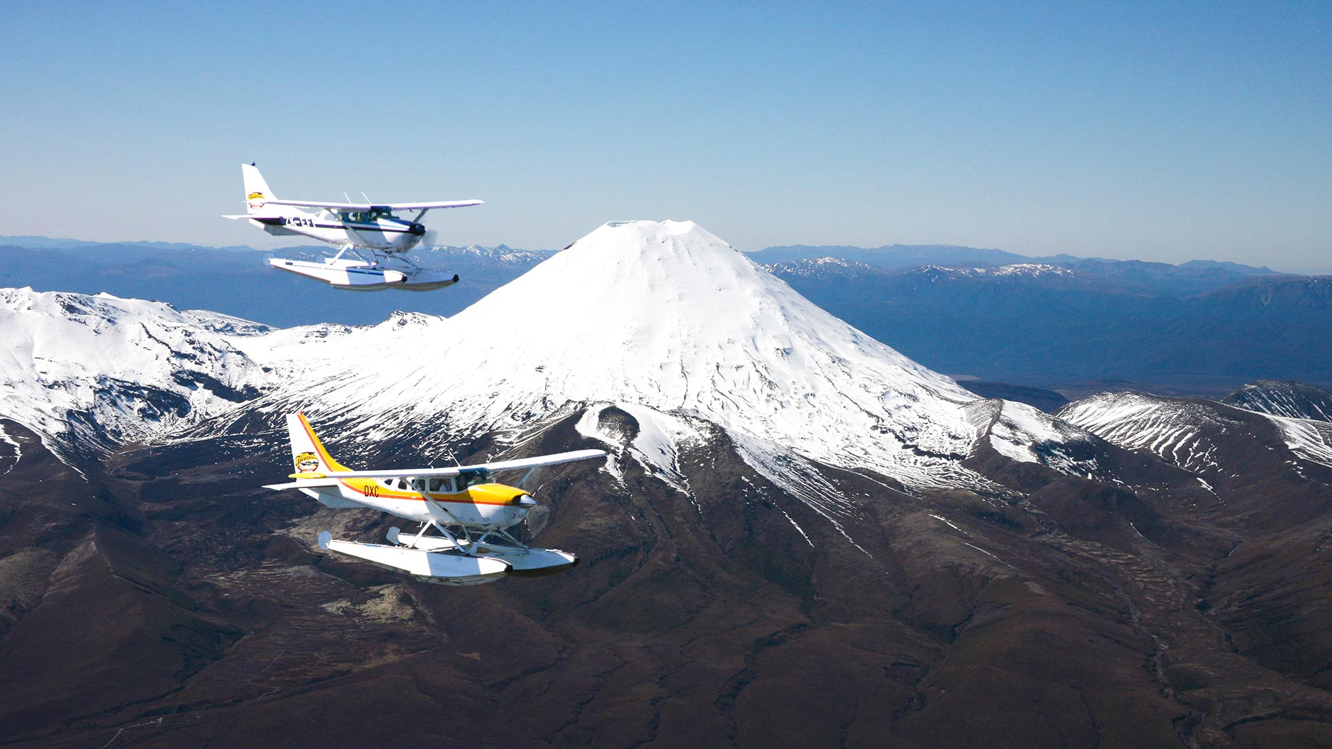 Taupo Scenic Flights   Go Flightseeing with Taupo's Float Plane