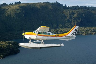 Scenic flight package, Taupo's Float Plane