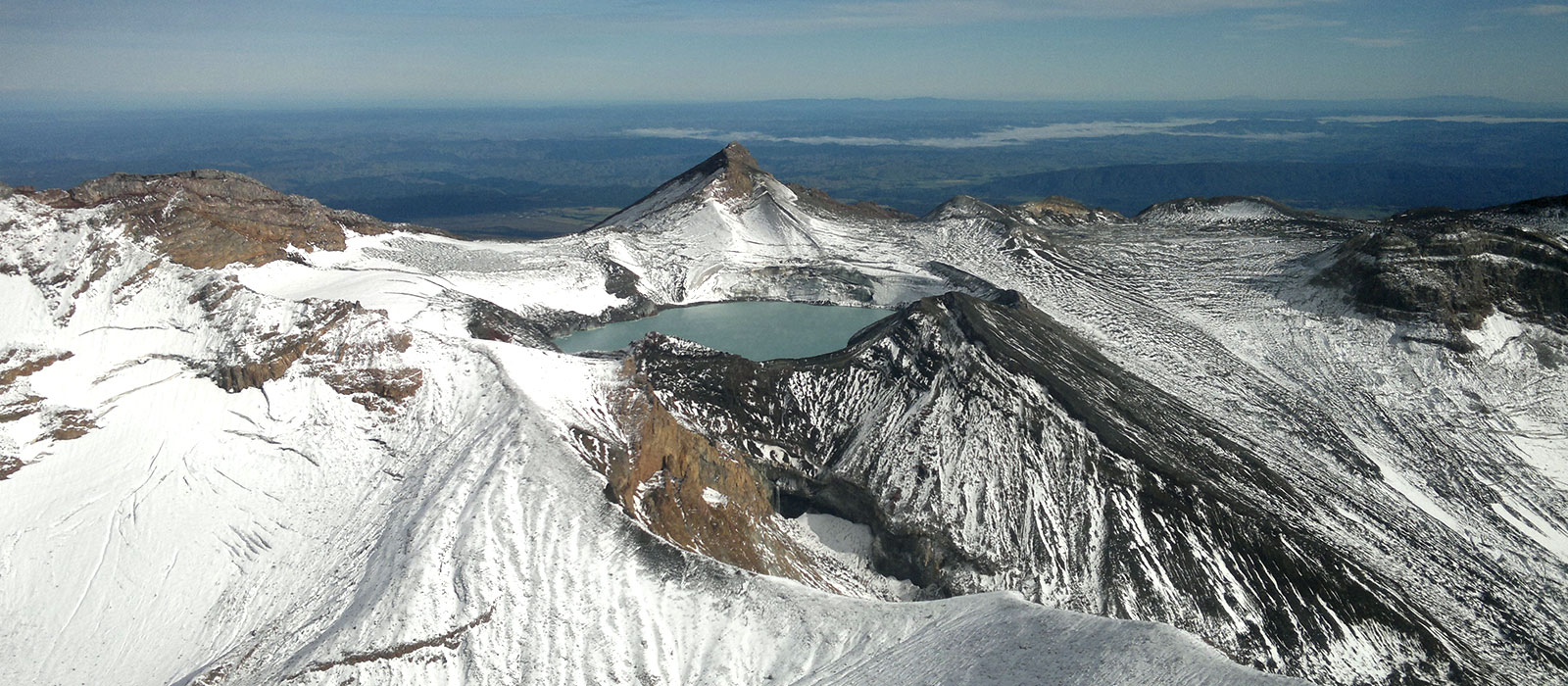Scenic flight to Mt Ruapehu, Taupo's Float Plane